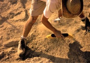archaeology dig penggalian
