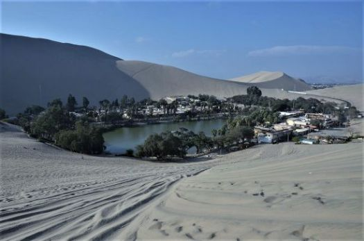 Hidden oasis Huacachina