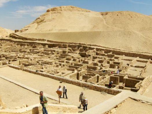 Deir el-Medina Village, perkampungan para pekerja mesir kuno