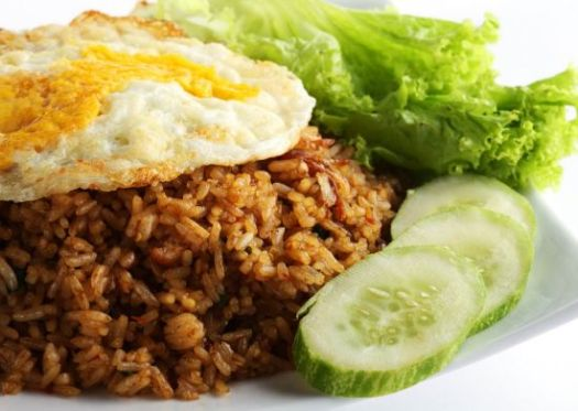 fried rice, nasi goreng