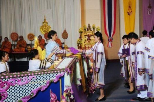 graduation ceremony thailand
