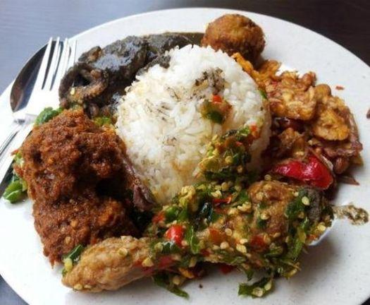 nasi padang, delicious food
